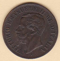 ae678961fb 2 Centesimi 1862 N - Numismatica Felsinea - monete antiche e moderne