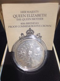 UK - Crown 1980 - Queen Elizabeth ...