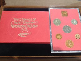 UK - Proof Coin Set 1973 - In ...