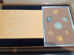 UK -  Proof Coin Set 1974 - In ...