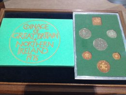 UK -  Proof Coin Set 1975 - In ...