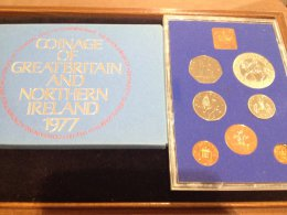 UK -  Proof Coin Set 1977 - ...