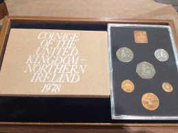 UK -  Proof Coin Set 1978 - In ...