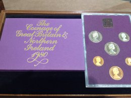UK -  Proof Coin Set 1980 - In ...
