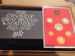 UK -  Proof Coin Set 1981 - In ...