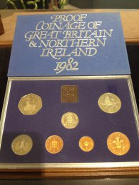UK -  Proof Coin Set 1982 - In ...