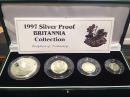 UK -  Britannia Silver Collection ...