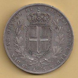 Carlo Alberto (1831-1849) 5 Lire ...