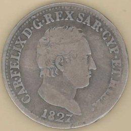 Carlo Felice (1821-1831) 50 ...