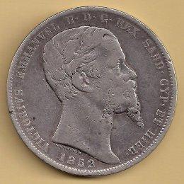 Vittorio Emanuele II (1849-1861) 5 ...