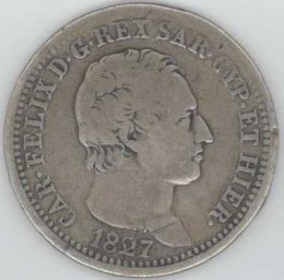 Carlo Felice (1821-1831) LIRA ...